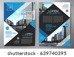 business brochure. flyer design.... | Shutterstock .eps vector #639740395