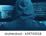 internet cyber crime concept.... | Shutterstock . vector #639742018