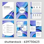 abstract vector layout... | Shutterstock .eps vector #639750625