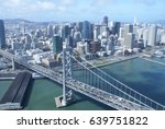 bay area aerial view | Shutterstock . vector #639751822