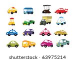 cartoon car icon | Shutterstock .eps vector #63975214