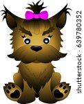 yorkshire terrier | Shutterstock .eps vector #639780352