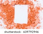eyeshadow cosmetic powder... | Shutterstock . vector #639792946