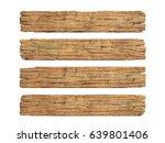 wooden planks 3d rendering | Shutterstock . vector #639801406