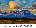 torres del paine national park. ... | Shutterstock . vector #639801562