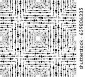 seamless geometric pattern.... | Shutterstock .eps vector #639806335