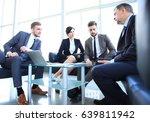 business people meeting...   Shutterstock . vector #639811942
