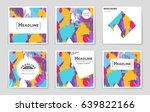abstract vector layout... | Shutterstock .eps vector #639822166