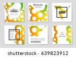 abstract vector layout... | Shutterstock .eps vector #639823912