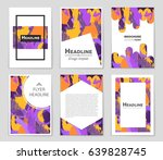 abstract vector layout...   Shutterstock .eps vector #639828745