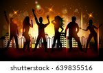 party people in club | Shutterstock .eps vector #639835516