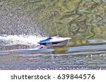 Boat Model In Motion On The...