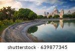 victoria memorial   an...   Shutterstock . vector #639877345