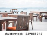 chair and table of cafe... | Shutterstock . vector #639885346