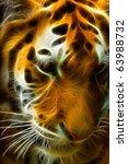 Thinking Tiger A Fractal...