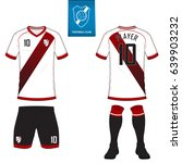 set of soccer kit or football... | Shutterstock .eps vector #639903232