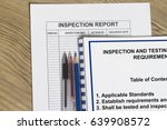 Small photo of Inspection requirement concept- many uses in the oil and gas industry.