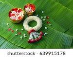 thai traditional jasmine...   Shutterstock . vector #639915178