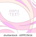 background of smooth curved... | Shutterstock .eps vector #639915616