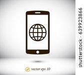 mobile smartphone icon  stock...