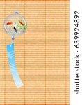 goldfish maple summer background | Shutterstock .eps vector #639924892