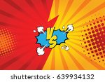 fight backgrounds comics style... | Shutterstock .eps vector #639934132