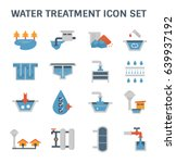 water treatment system and... | Shutterstock .eps vector #639937192