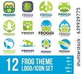 Frog Logo Icon Bundle