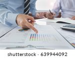 fund manager analyze business... | Shutterstock . vector #639944092