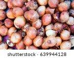 Fresh Purple Sweet Potatoes In...