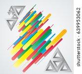 minimalistic creative concept . ... | Shutterstock .eps vector #639953062