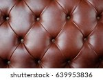 brown leather pattern | Shutterstock . vector #639953836