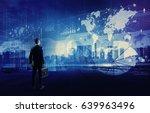 system integration concept.... | Shutterstock . vector #639963496
