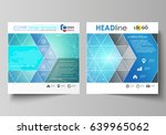 business templates for square...   Shutterstock .eps vector #639965062