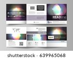 set of business templates for... | Shutterstock .eps vector #639965068
