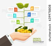 business investment concept.... | Shutterstock .eps vector #639978808