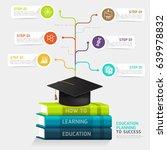books step education... | Shutterstock .eps vector #639978832