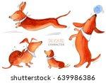 Dachshund Character  Dog...