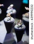 fine luxury diamond jewellery... | Shutterstock . vector #639990232