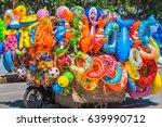 editorial use only  colorful... | Shutterstock . vector #639990712