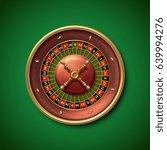 las vegas casino roulette wheel ...   Shutterstock .eps vector #639994276