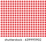 textured red and white plaid... | Shutterstock .eps vector #639995902