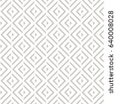vector seamless pattern. modern ...   Shutterstock .eps vector #640008028