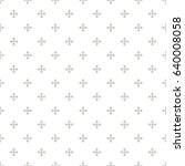 vector seamless pattern. modern ...   Shutterstock .eps vector #640008058