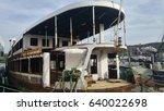 abandoned boat | Shutterstock . vector #640022698