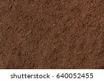 peat soil as a background