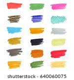Set Of Vector Hand Drawn With...