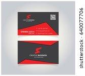 s letter logo minimal corporate ... | Shutterstock .eps vector #640077706