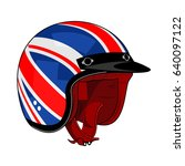 illustration of motorcycle... | Shutterstock . vector #640097122