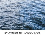 shining blue water ripple... | Shutterstock . vector #640104706